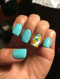 are acrylic nails out of style 2014 summer best 25 teal ...