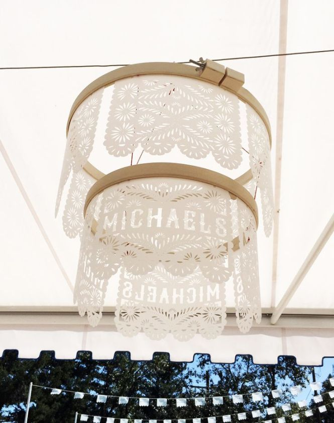 Craft A Papel Picado Chandelier With Cricut Explore Air We Cut Designs On