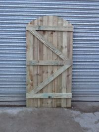 Wooden Gate, Garden Gate, Heavy Duty Pressure Preated in ...