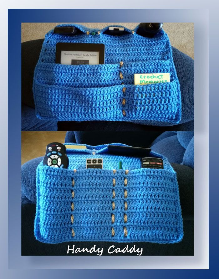 Bedside Caddy Organizer Pattern