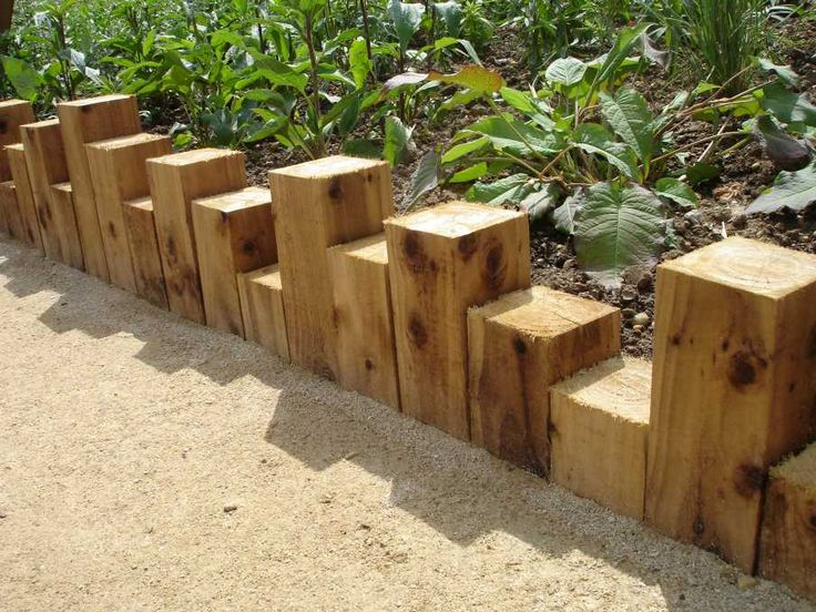 25 Best Ideas About Wooden Garden Edging On Pinterest Railway