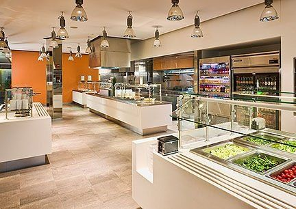 Custom Made Corporate Cafeteria