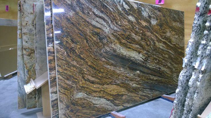 kitchen remodel hawaii ebay cabinets full slab cinderella gold granite   slabs of ...
