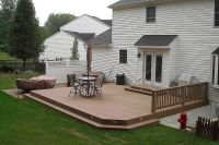 Ground level deck | Patio/Backyard | Pinterest | Decks ...