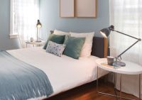 King and Queen Bed Decorative Pillow Arrangements | Pillow ...