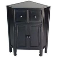 Black Corner Storage Cabinet... | Kitchen Cabinets ...