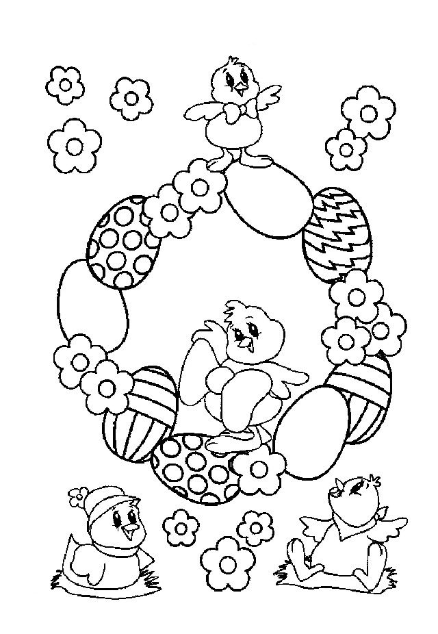 17 Best images about Easter Coloring Pages on Pinterest