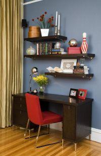 17 Best ideas about Shelves Above Desk on Pinterest   Desk ...
