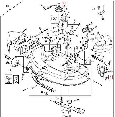John Deere Gator 6x4 Wiring Diagram Schematic 18 Best Images About John Deere Mower Decks On Pinterest