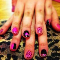 Best 20+ Pink Black Nails ideas on Pinterest   Pretty nail ...