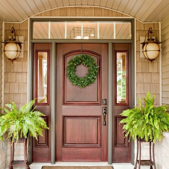 25+ Best Ideas about Front Door Design on Pinterest