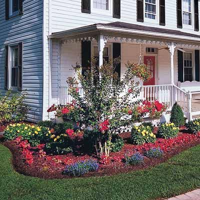 ideas corner landscaping