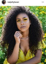 black curly hair ideas