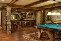 Best 25+ Rustic basement ideas on Pinterest
