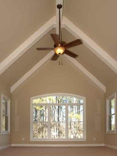 19 Best Images About Vaulted Ceiling On Pinterest Dark Ceiling Artworks And Office Paint
