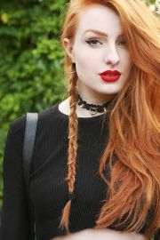fire red hair ideas