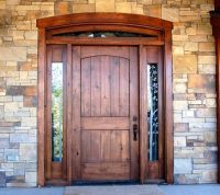 17 best ideas about Entry Door With Sidelights on ...