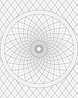 17 Best images about coloriages mandalas rectangles on