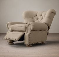 Churchill Upholstered Recliner with Nailheads - loved this ...