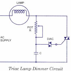 Dimming Switch Wiring Diagram Aprilia Rs 50 1998 Triac Lamp ‪#‎dimmer‬ Circuit Are Devices Used To Lower The Brightness Of A Light. | Free ...