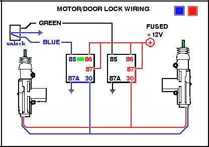 universal relay wiring diagram double outlet #power door locks #electronics #electricals | electronic circuits pinterest electronics ...