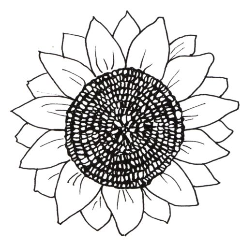 yard art sunflower. might use rebar for stem, plasma cut