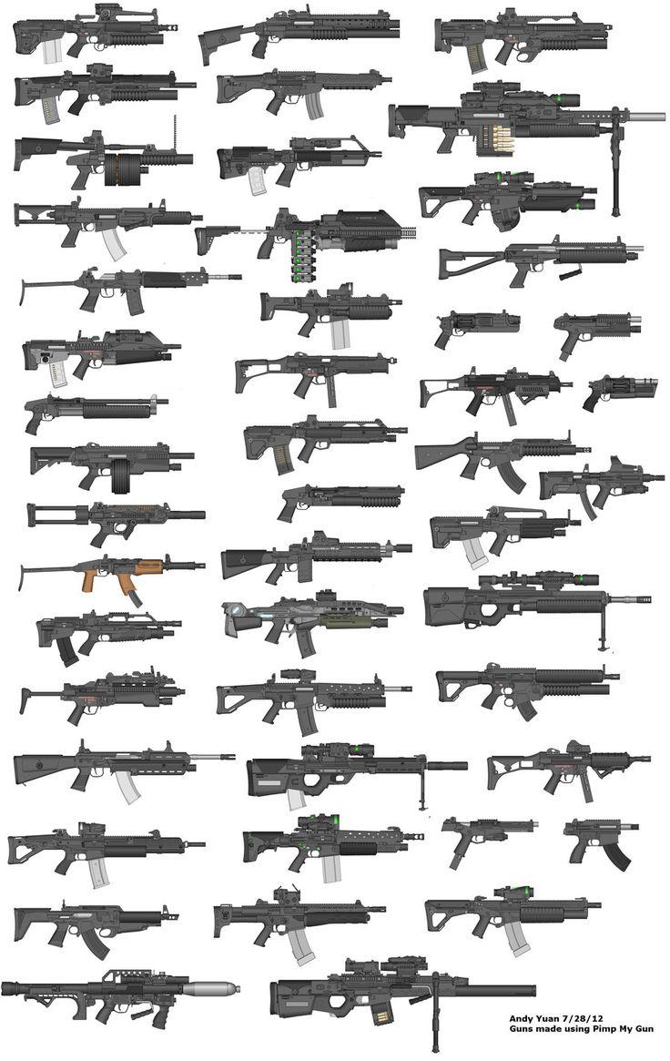 Rifles by Pimp My Gun 15 by c-force.deviantart.com on