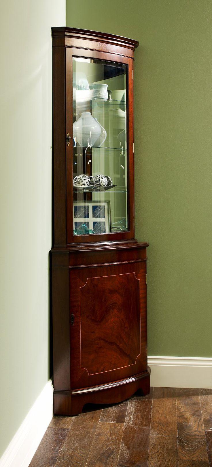 25 best ideas about Corner Display Cabinet on Pinterest