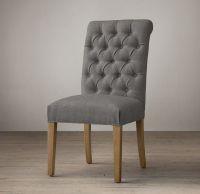Bennett Roll-Back Upholstered Side Chair | For the Home ...