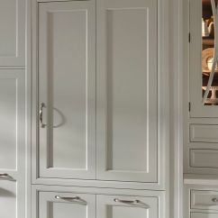Wood Mode Kitchen Cabinets Composter Custom Refrigerator Panels | Wood-mode Fine ...