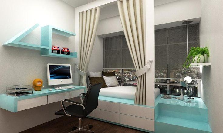 Bay windows, Platform beds and Platform on Pinterest