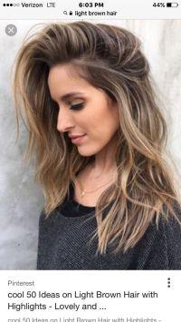 Best 25+ Light brown hair ideas on Pinterest   Light brown ...