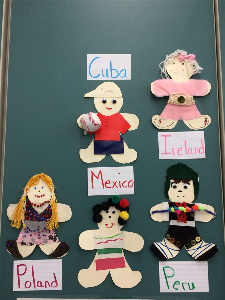 Family Heritage For Social Studies First Grade Send Home Paper Doll Have Students And Parents