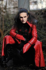 #gothic male model franois telombre