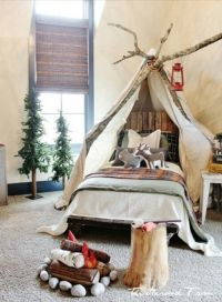 25+ best ideas about Outdoor theme bedrooms on Pinterest