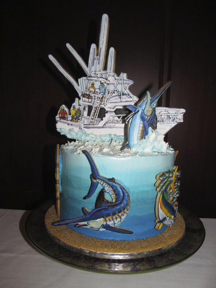 Deep Sea Fishing Cake Bake A Wish Beautiful Cakes