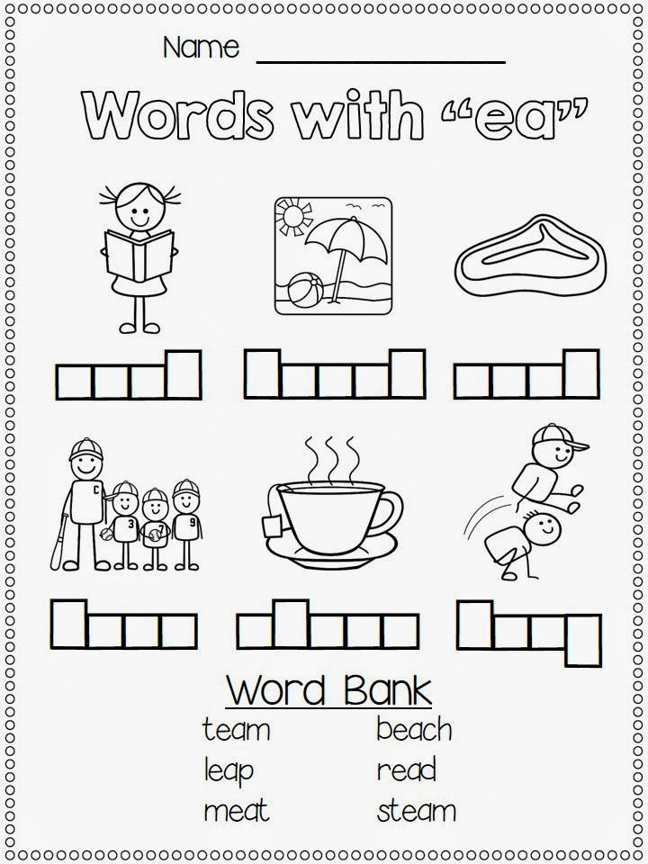 40 best images about EE EA word families on Pinterest