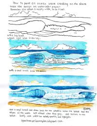 Best 25+ Watercolor Ocean ideas on Pinterest | Watercolor ...