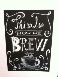 25+ best Coffee Chalkboard ideas on Pinterest | Chalkboard ...