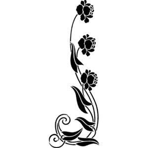 17 Best images about Art Nouveau Stencils and Floral