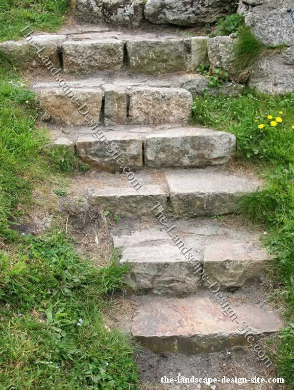 23 Best Images About Rock Stairs On Pinterest Landscaping