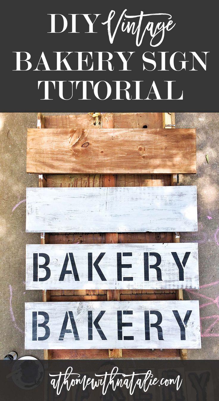 25 Best Ideas About Bakery Sign On Pinterest Vintage