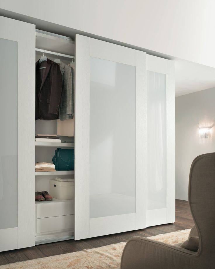 Mirror Sliding Wardrobe With Mirrored Doors Arredaclick