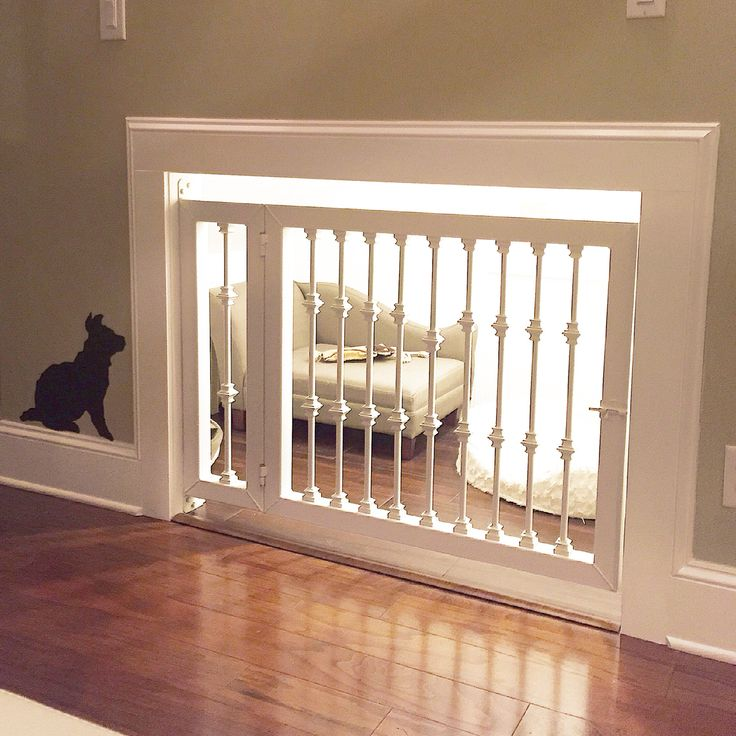 Our finished UndertheStairs Kennel complete with chaise