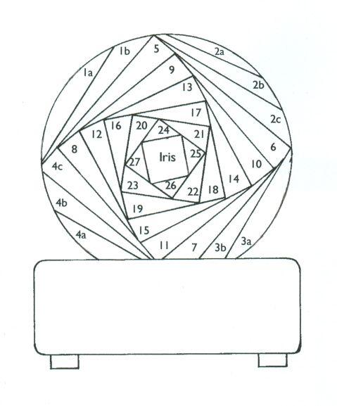 369 best images about Iris Folding Patterns on Pinterest