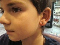 The gallery for --> Earrings For Kids Boys