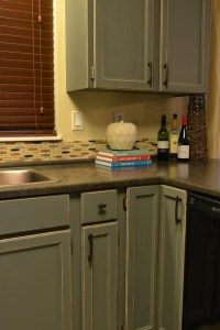 How to Distress Painted Wood Furniture (or Cabinets