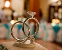 Engagement Ring Cake Topper | Tropical Bling Engagement ...