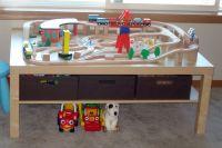 63 best DIY Train Tables images on Pinterest