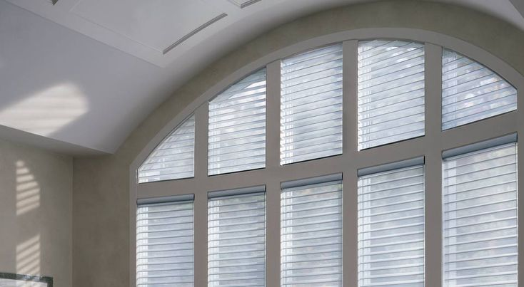 window blinds for living room macys noah's arched window, alustra silhouette ...